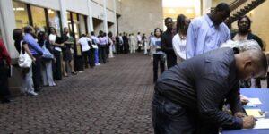 ¡Solicitudes de empleo llegan a los 3,5 millones!
